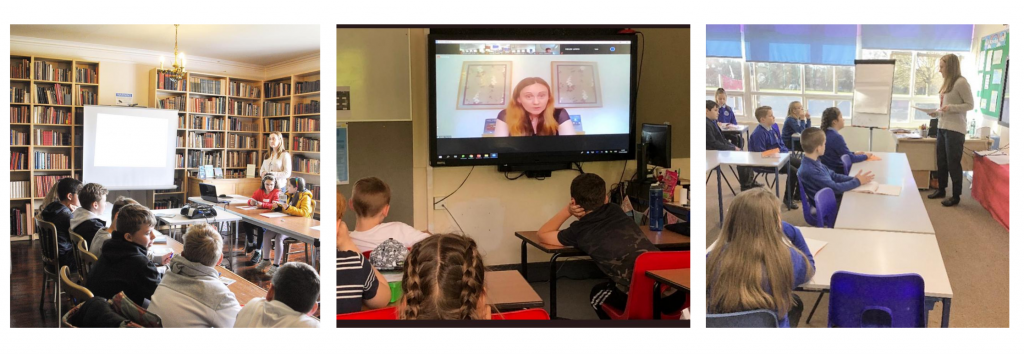 Author Visits by Nikki Young