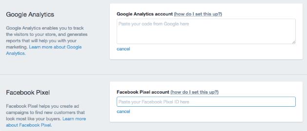 installer le pixel facebook ads sur shopify