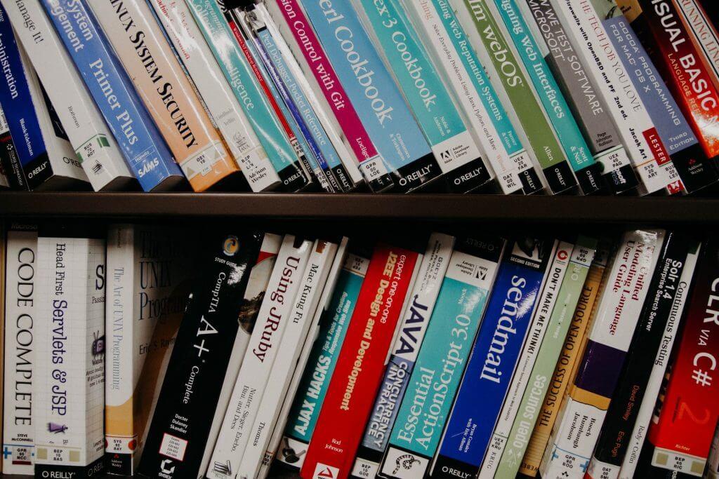 collection de livres digital marketing  web