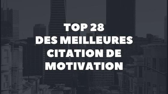 citations motivation en français