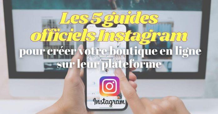 créer boutique en ligne instagram
