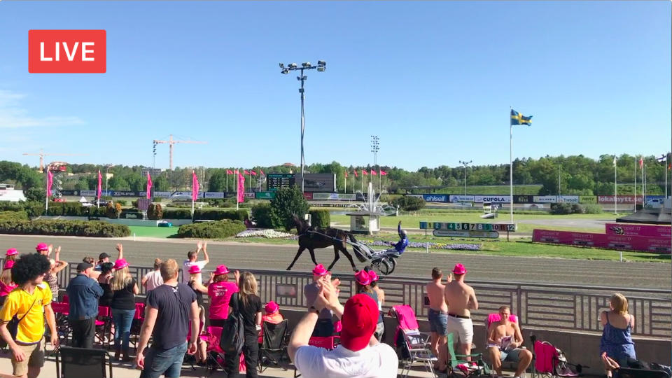 Facebook Live Elitloppet