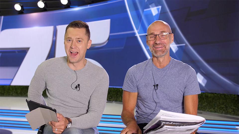 Per Skoglund och Micke Nybrink