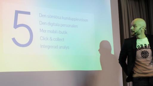 Fredrik Sjöström StreamRocket AB Föreläsning