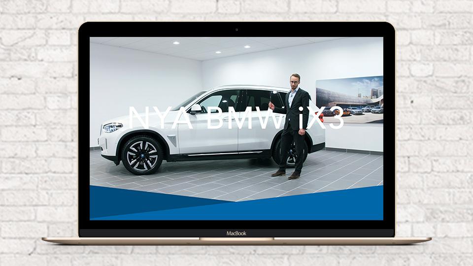 Vår senaste filmproduktion för Bavaria Bil och lanseringen av BMW iX3 – Streamrocket AB
