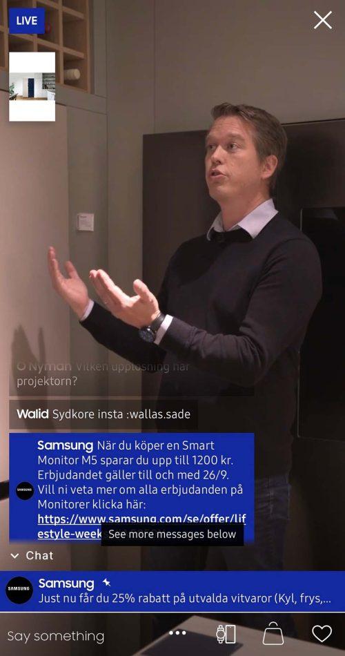 Produktexpert hemelektronik Samsung