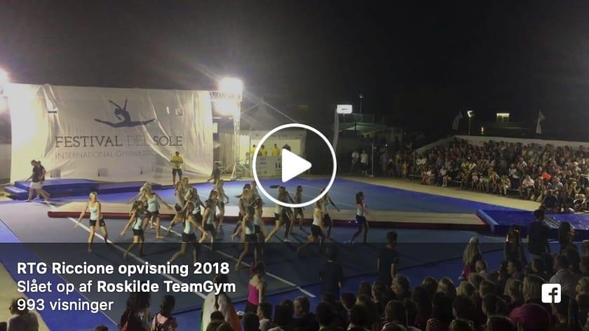 Roskilde TeamGym Junior girls and boys, Festival del Sole, Italy, Street Gymnastics