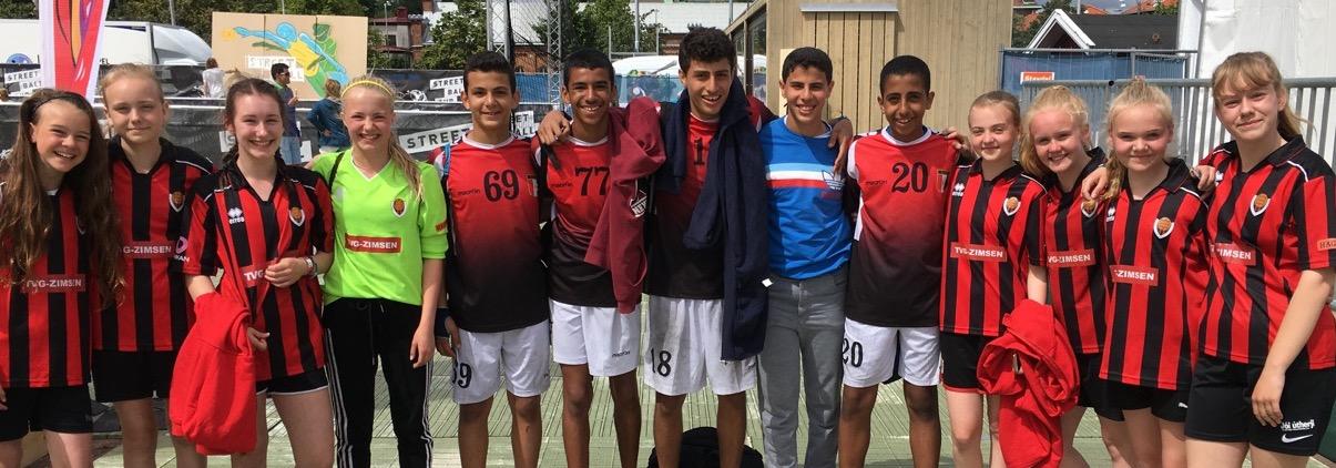 344 Street Handball Cup Partille Cup 2016 3 Egypt, Alexandria SC Team 3 Boys 12 vs. Iceland, Vikingur Girls 14b