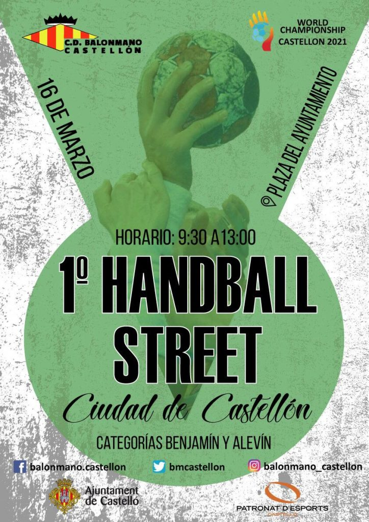1st Street Handball Ciudad de Castellon, Balonmano Castellon, Spain