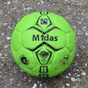 Midas Fairtrade Street Twist 42 Street Handball ball
