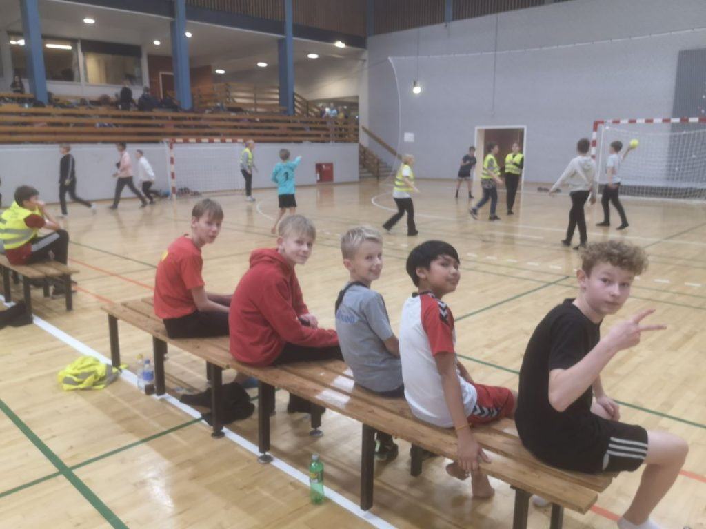 Fun Friday Event with Street Handball and a lot of different sports in Bramming, Denmark