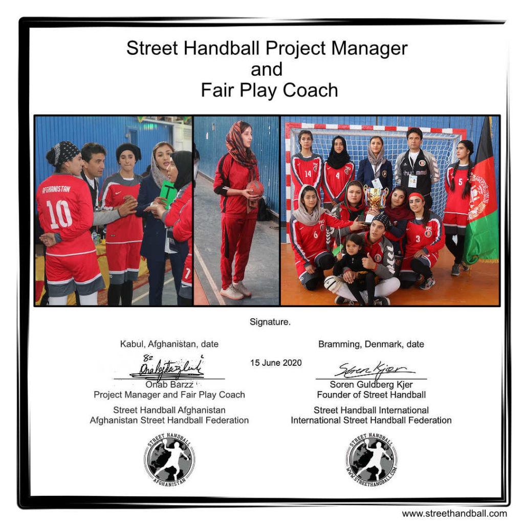 Street Handball Afghanistan