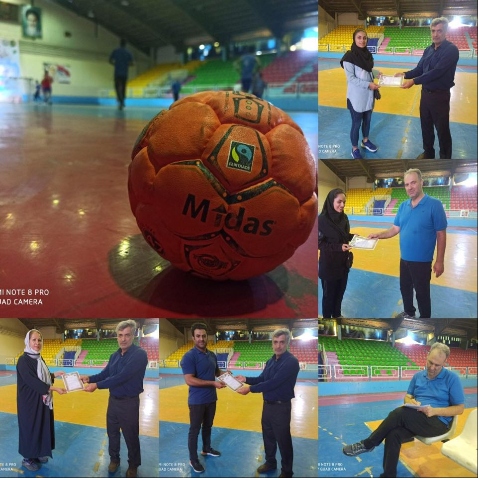 Street Handball Iran hosted their first Street Handball Fair Play Coach and Match instructor course