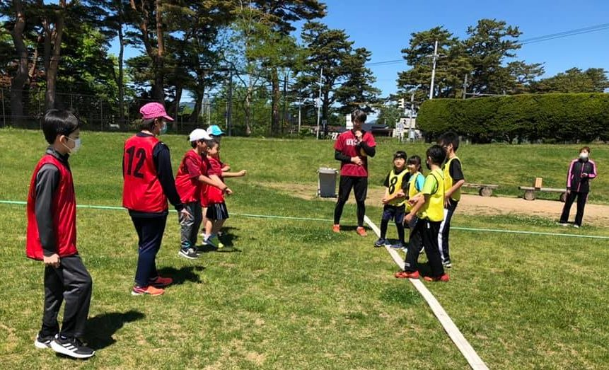 Street Handball is practice outdoor and indoor twice a week all year around by Hakodate Tide Sports Club in Japan
