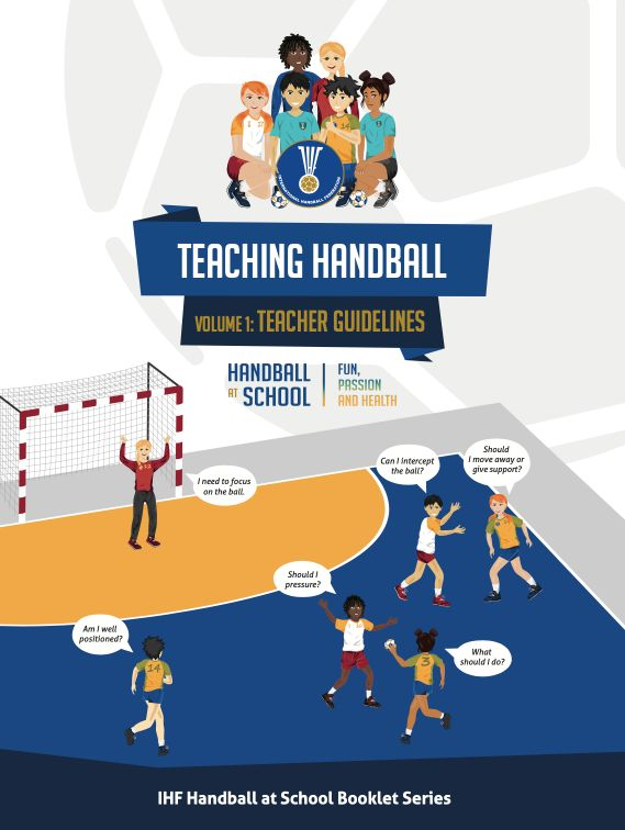 """International Handball Federation mentioned """"Street Handball"""" and how to make a ball, goals, and how to mark the field"""