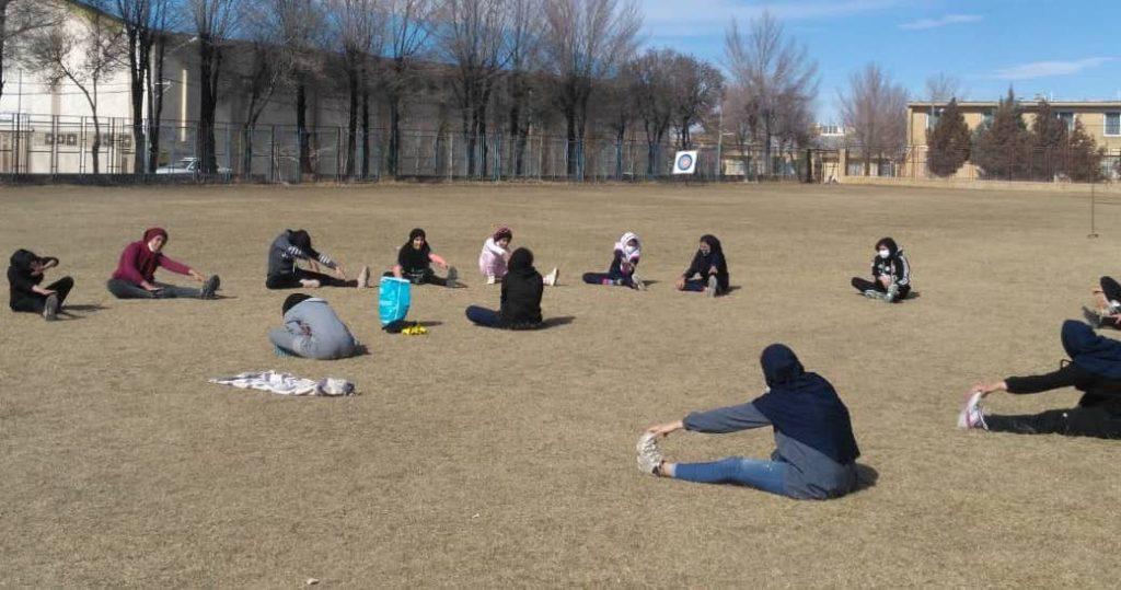 Street Handball girls and events from Iran, Borujen city and Harbor Jask