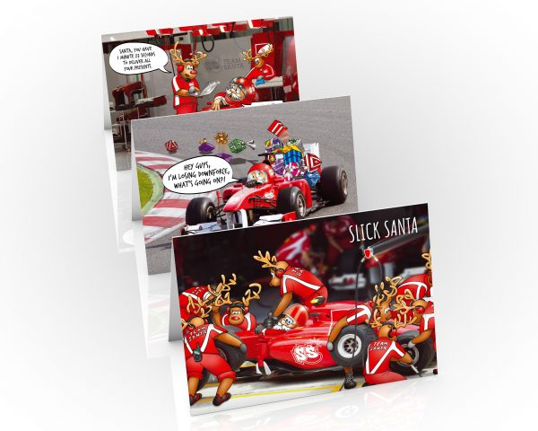 formula one christmas cards 3 card mix pack