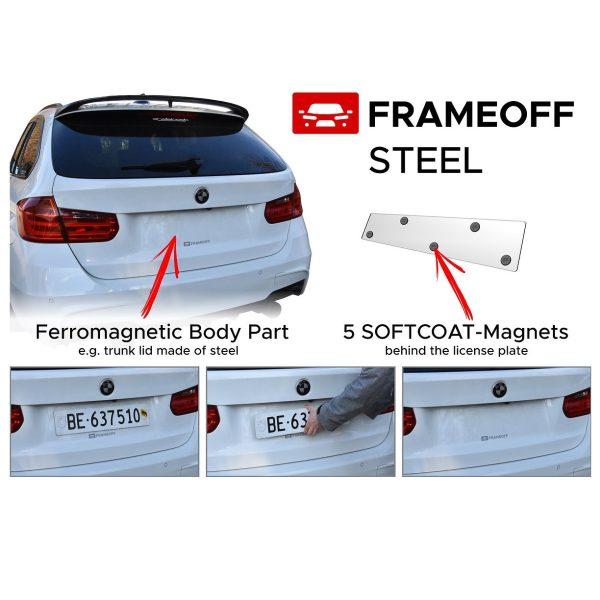 Frameoff – steel – 2