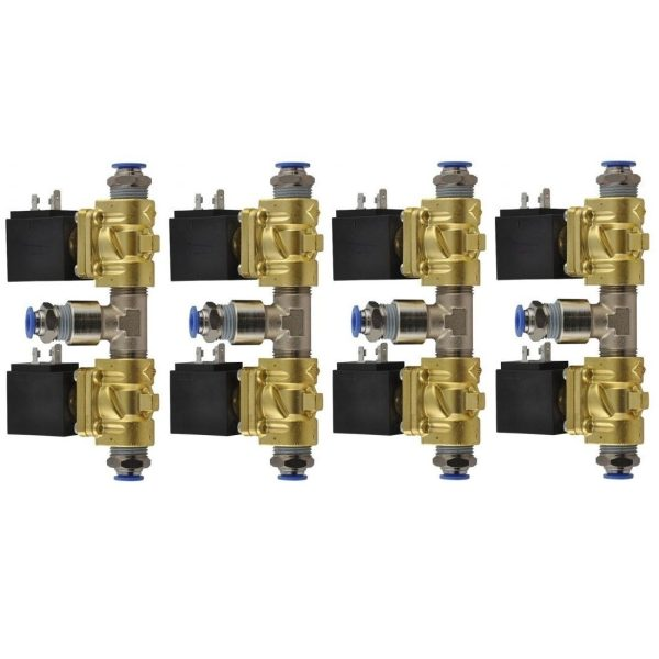 1-4 ventiler x8