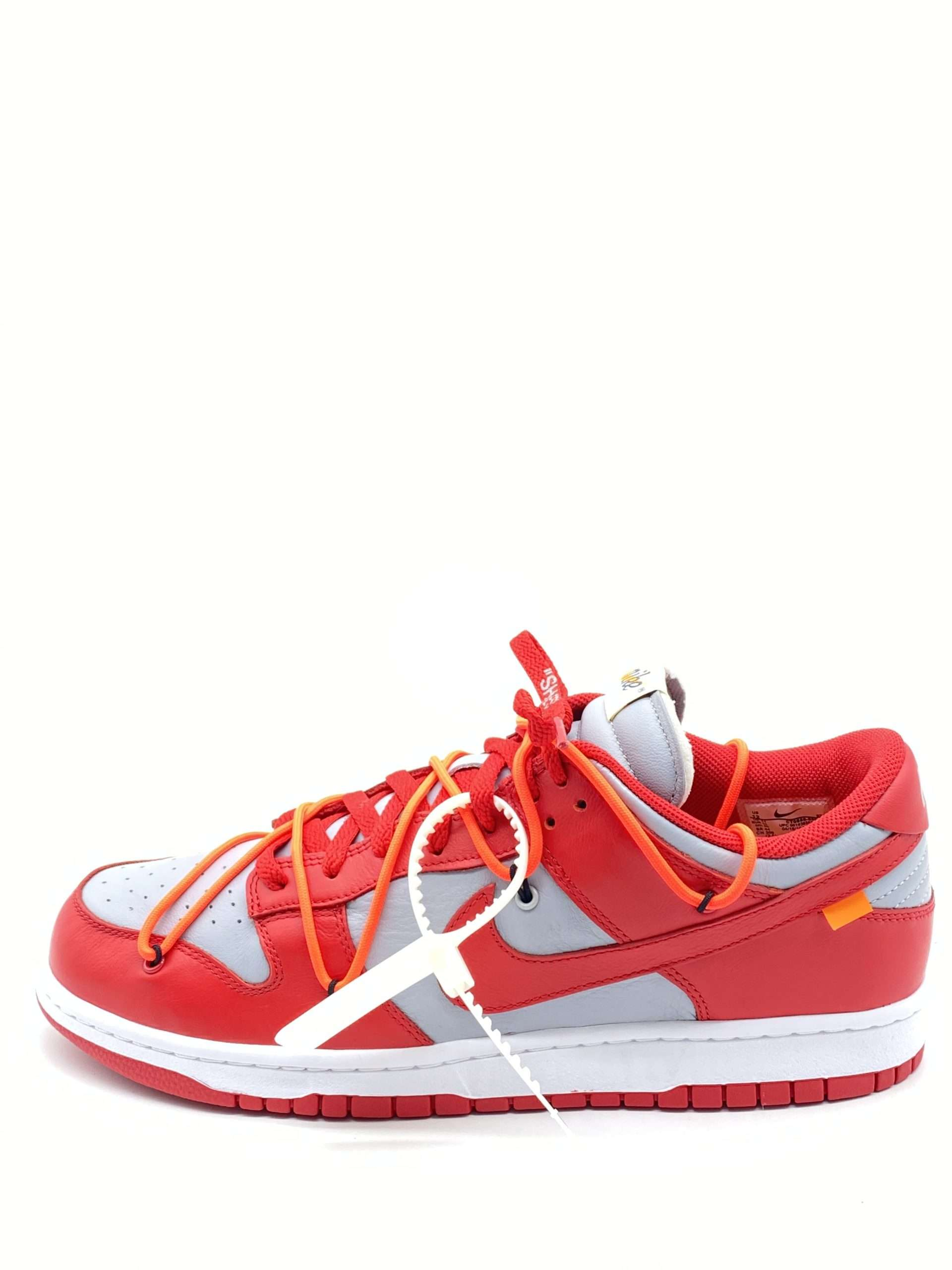 """Nike Dunk Low x Off-White """"University Red"""""""