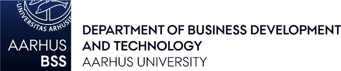 Aarhus University, Department of business and technology logo