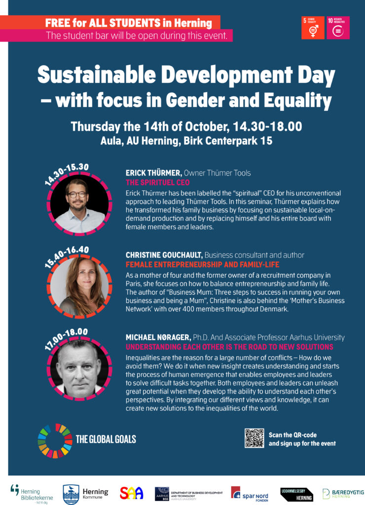 Poster: Sustainable Development Day - with focus in gender and equality