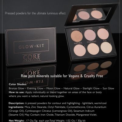 CORE cosmetics Glow Kit