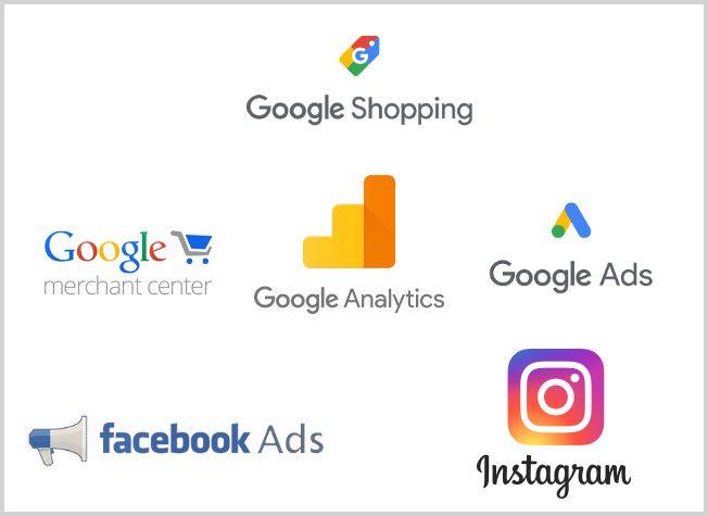 Google Facebook Instagram