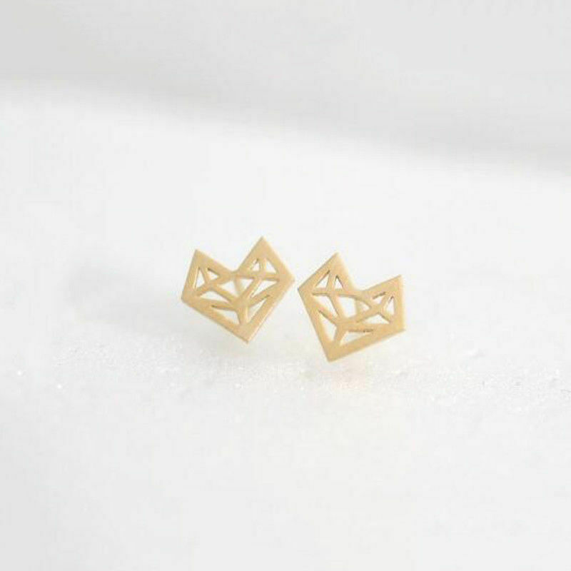 Angels golden fox earrings