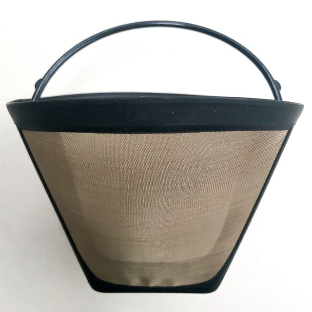 Reusable coffee filter environmental friendly