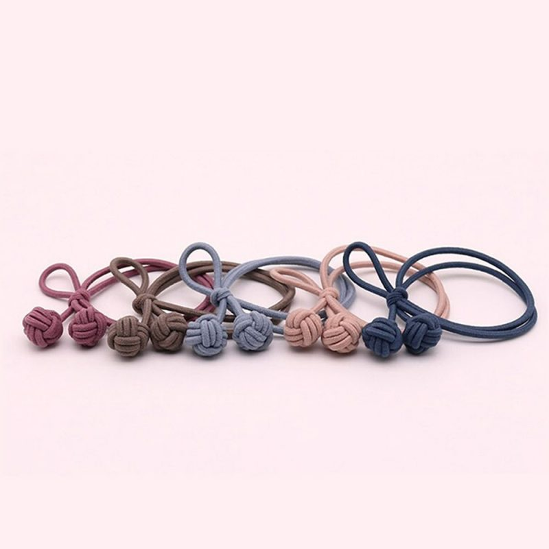 Trendy hair tie bands scrunchies