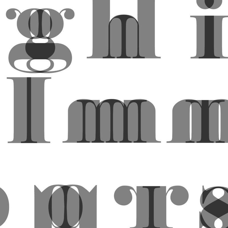 Alfabetet framlänges och baklänges (engelska) - Studio Caro-lines