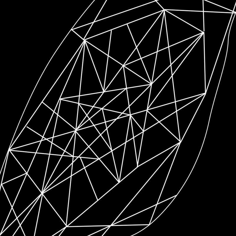 Undulat - svart - Studio Caro-lines