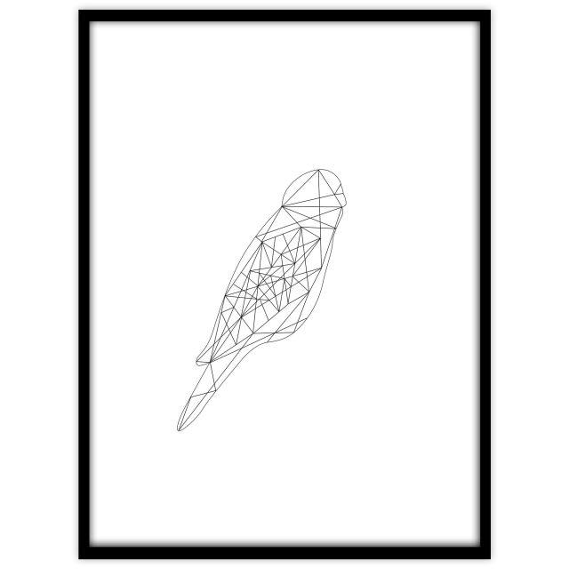 Undulat - vit - Studio Caro-lines