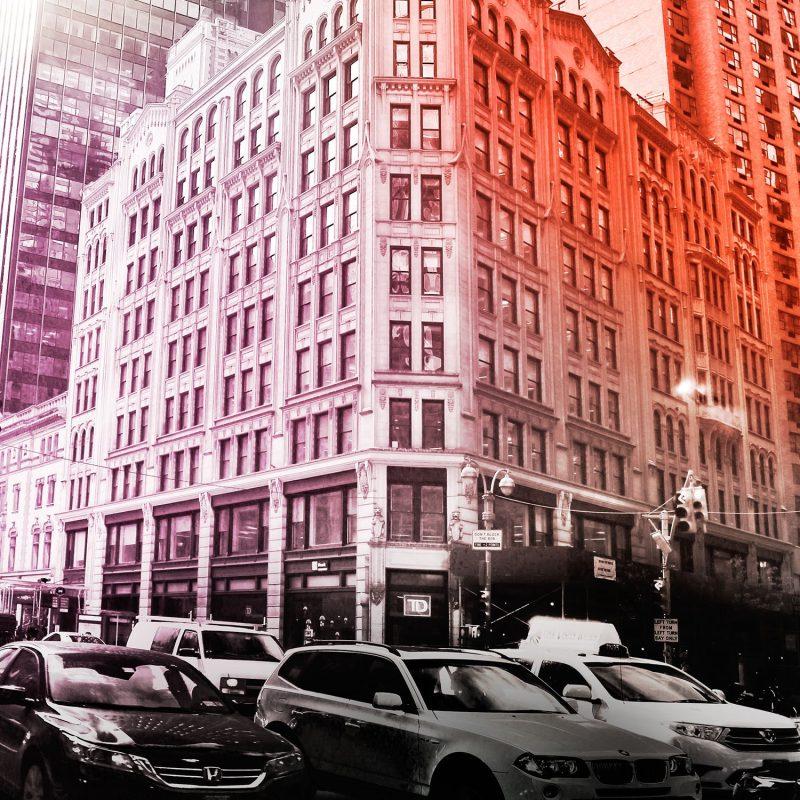 New York street (färg) - Studio Caro-lines