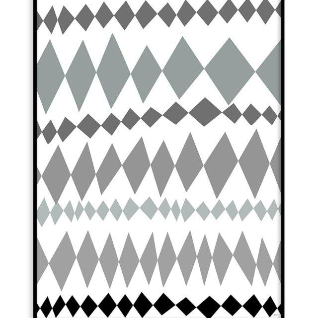 Harlequin pattern (30x40 cm) - Studio Caro-lines