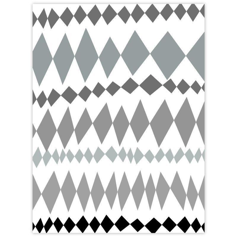 Harlekinmönster - Studio Caro-lines