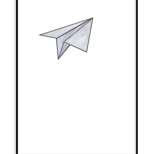 Marbelous plane (30x40 cm) - Studio Caro-lines