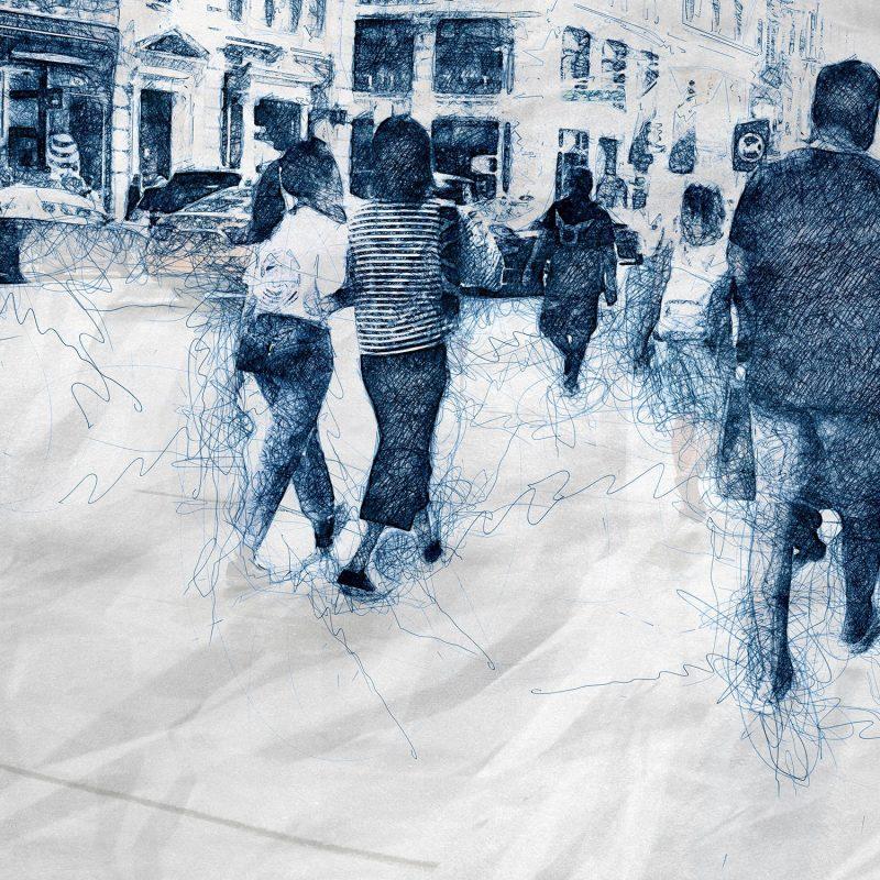 Folk i New York - Studio Caro-lines