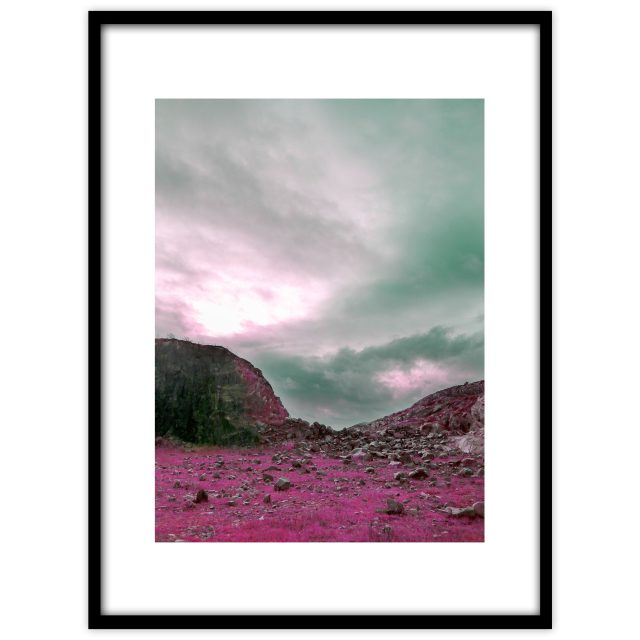 Pink mountains - Studio Caro-lines