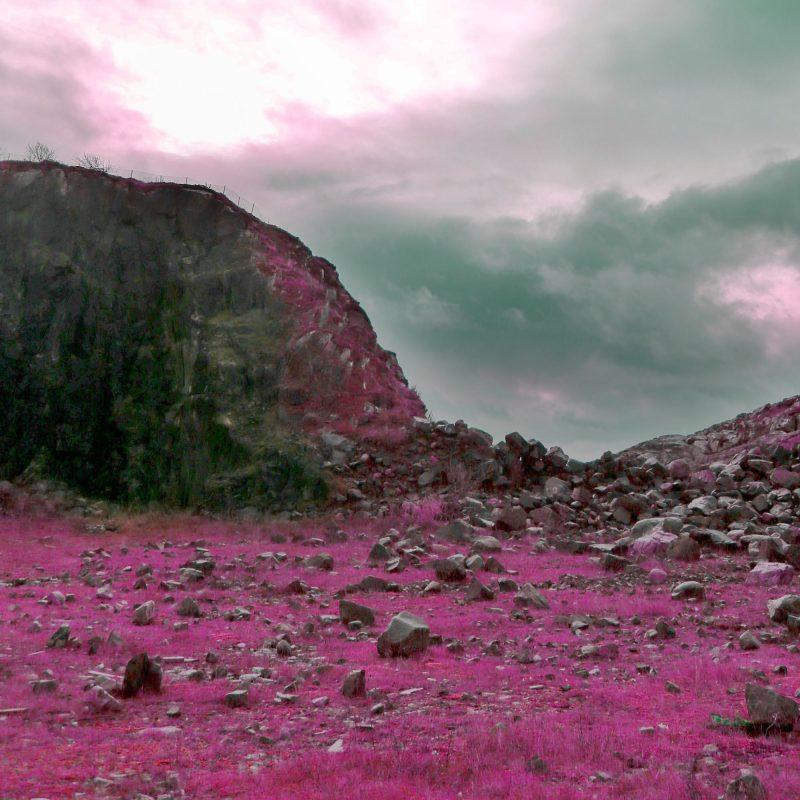 Pink mountains - Studio Caro-lines