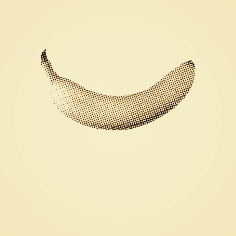 Rasterized banana - Studio Caro-lines