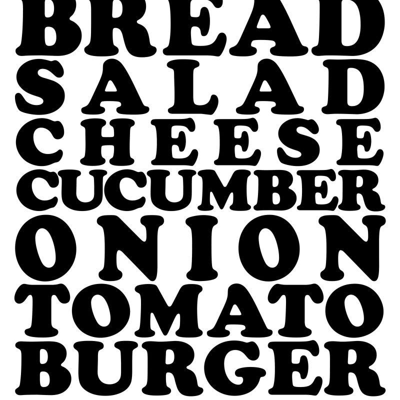 The real burger - Studio Caro-lines