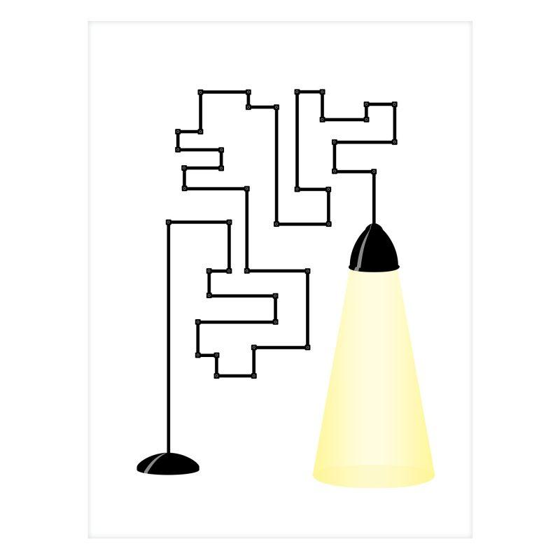 Modern lampa - Studio Caro-lines