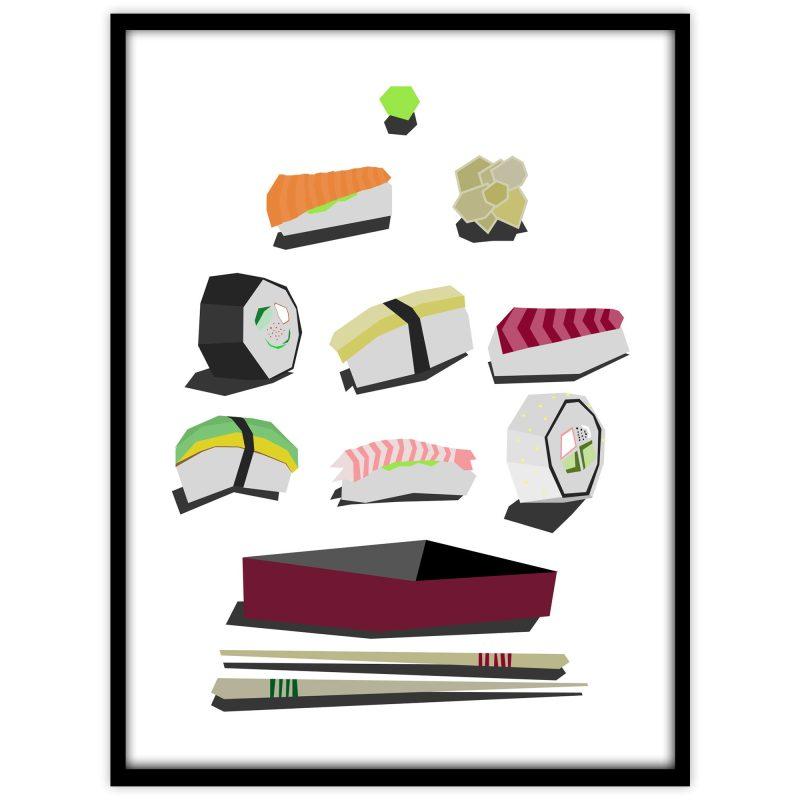 En bra dag för sushi - Studio Caro-lines