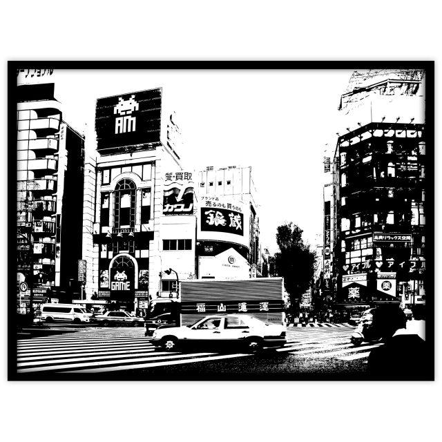 Taxi i Tokyo - Studio Caro-lines