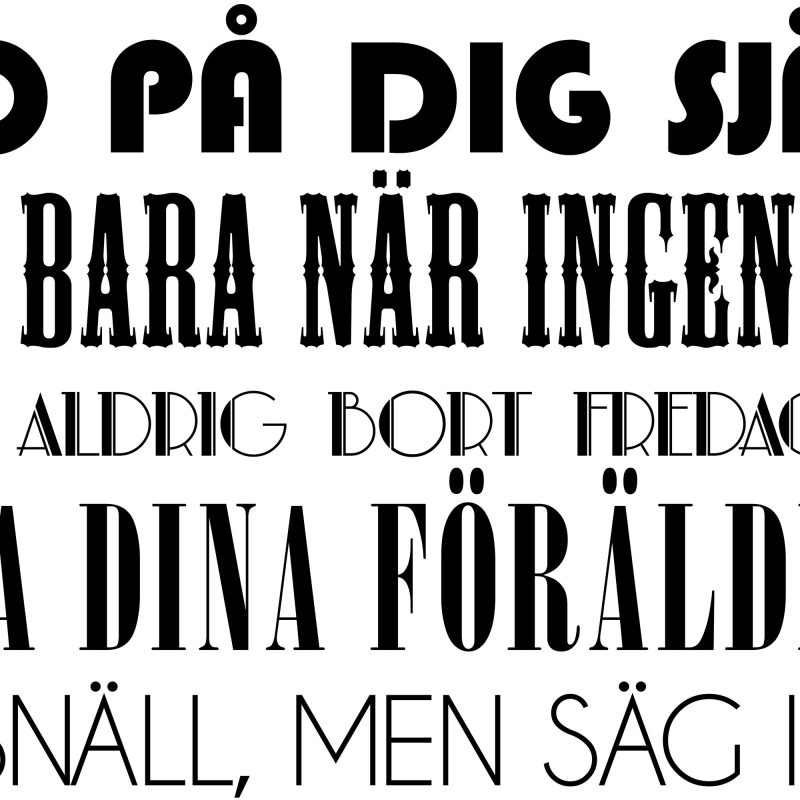 De tio budorden - Studio Caro-lines