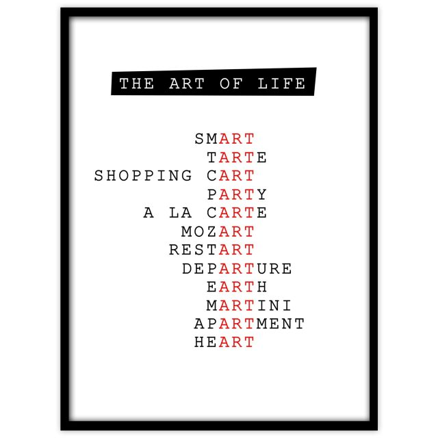 The art of life - Studio Caro-lines