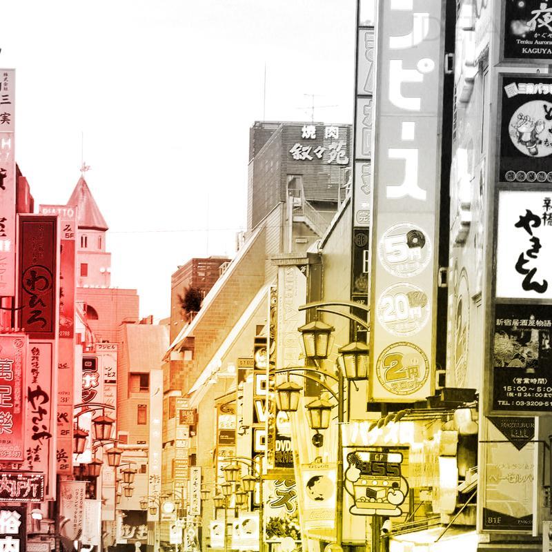 Tokyo street (30x40 cm) - Studio Caro-lines