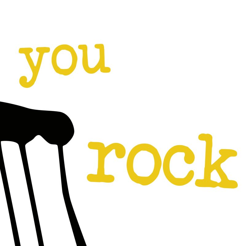 You rock - Studio Caro-lines
